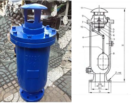 供应产品 03 污水排气阀-复合式排气阀scar  规格dn 25 50 80 100图片